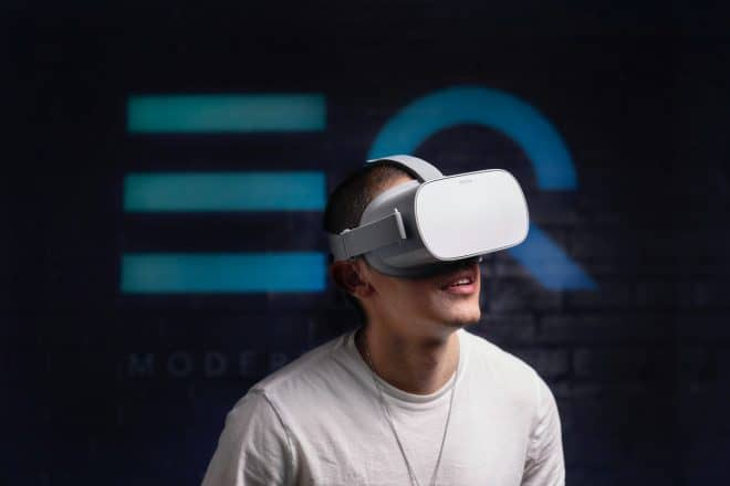 guy in VR headset
